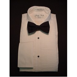 Men's Blend formal shirt with laydown collar and squared French cuffs