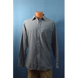 100% Cotton Blue Chambray