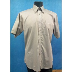 Men's Grey Short Sleeved Shirt